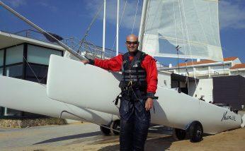 Nouveau catamaran au Pôle Nautique